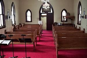 Back of church